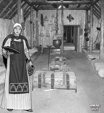 Longhouse woman