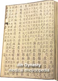 Jin Dynasty medical encyclopedia