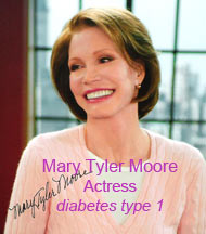Mary Tyler Moore -  actress