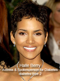 Halle Berry spokesperson for Diabetes