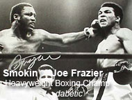 Smokin Joe Frazier boxing world champ