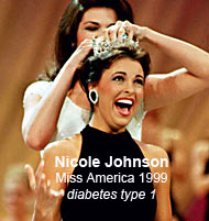 Nicole Johnson Miss America 1999