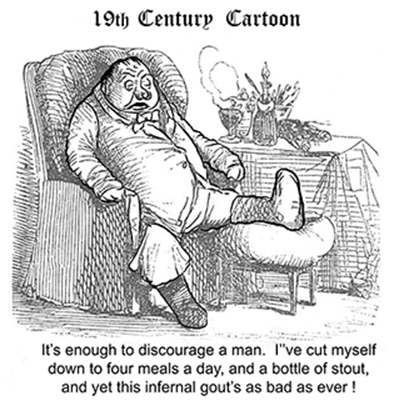 19th century cartoon
