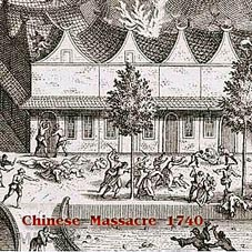 Chinese massacre 1740