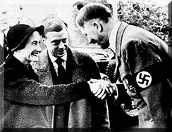 The Windsors meet Hitler 1937